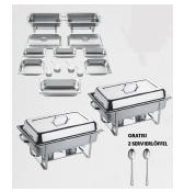 Sparset Chafing Dishes